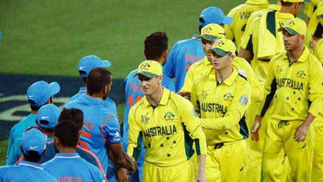 India lost India-Australia first one day match