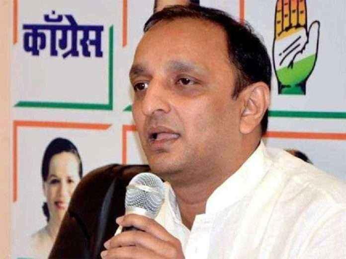 Maharashtra Pradesh Congress Committee general secretary and spokesman Sachin Sawant