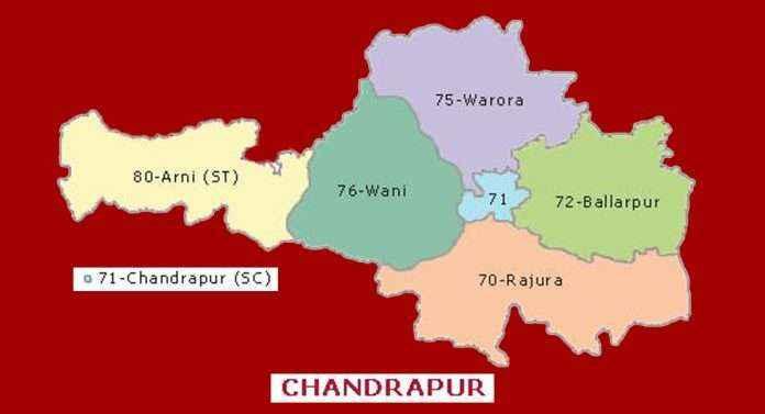 13 - Chandrapur loksabha constituency