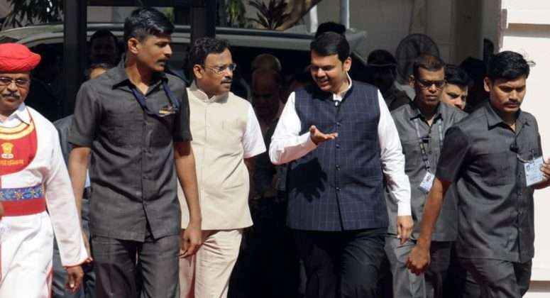 vinod tawde and Devendra Fadnavis