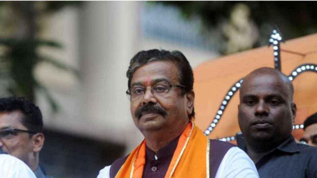 Shivsena MP Gajanan Kirtikar