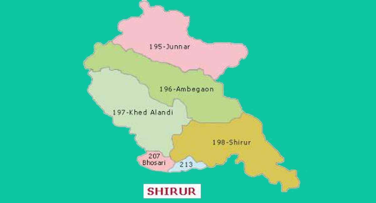 shirur loksabha constituency in maharashtra information