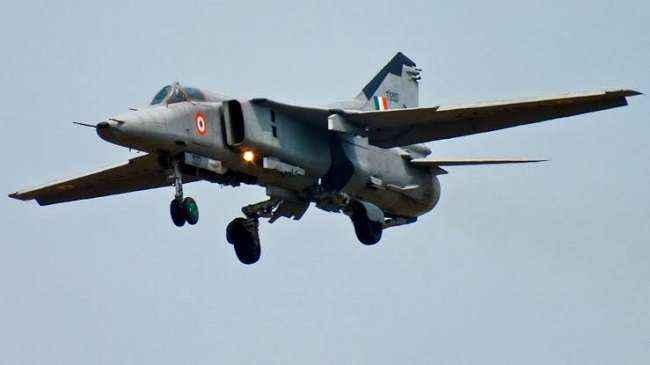 A MiG-27 aircraft