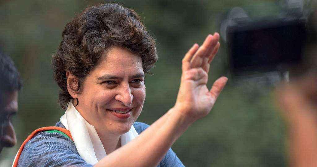 Congress Candidate Priyanka Gandhi