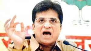 BJP MP Kirit Somaiya
