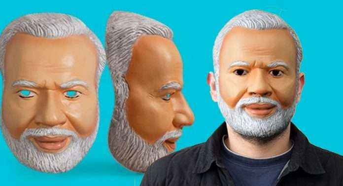 Buy modi mask and bring out the inner #PMNarendraModi fan in you