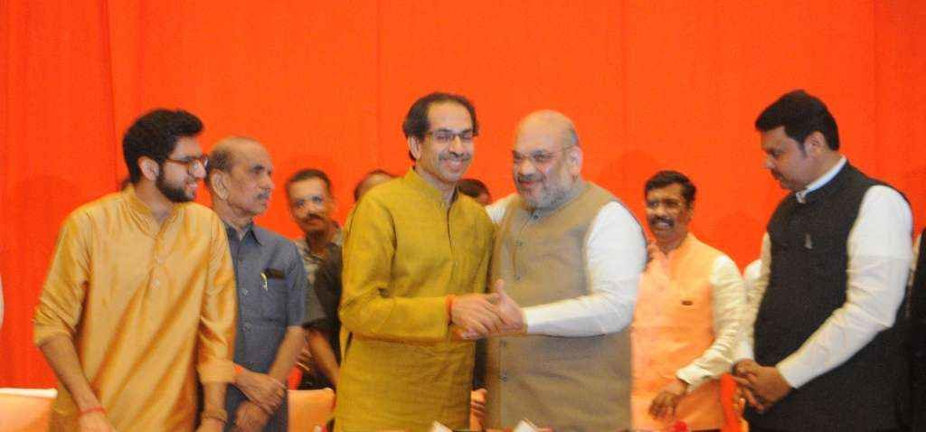 Shivsena BJP Alliance