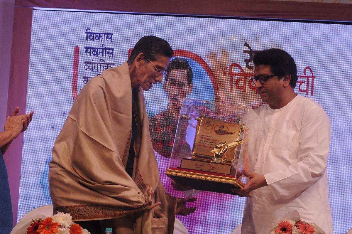 In our country, cartoonist is not worth the price - Raj Thackeray