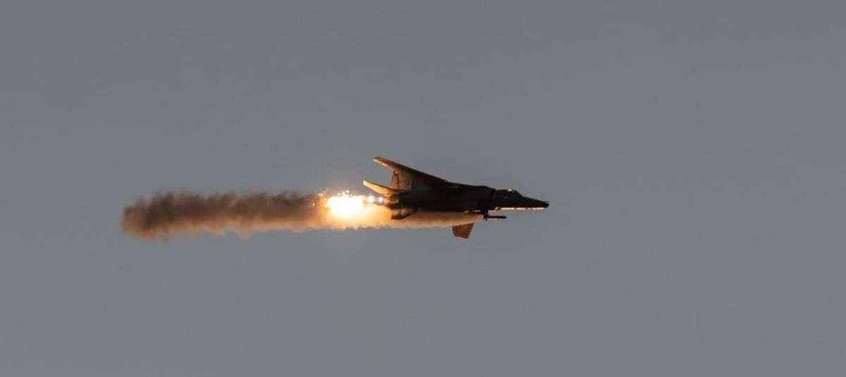 Vayu Shakti 2019 : firepower demonstration of the Indian Air Force at Pokhran Range in Rajasthan