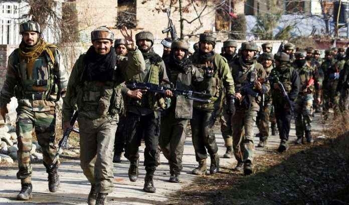encounter with security forces in Rajpora