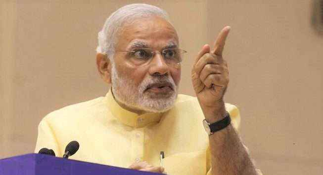 I will fear those who loot the country - Modi