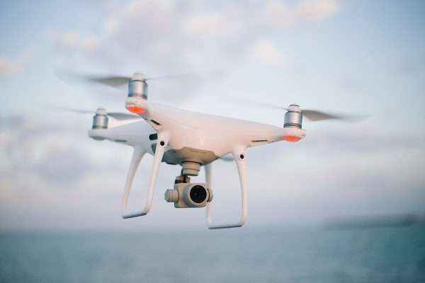 Quadcopter_camera_drone_in_flight