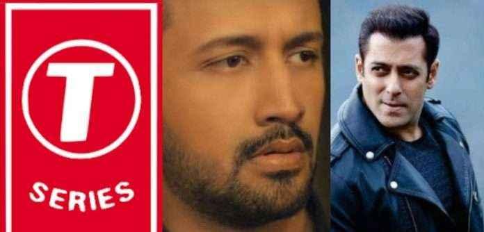 T-Series and salman khan ban Pakistani singerAtif Aslam after Pulwama attack