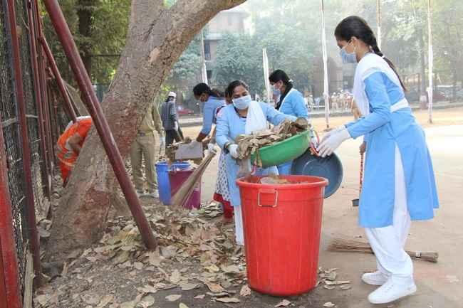 Clean hospital campaign organised by Nirankari foundation