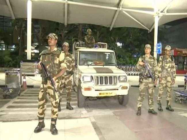 Security tightened in the city after Indian Air Force (IAF) strike at Jaish-e-Mohammed (JeM) camp in Pakistan's Balakot