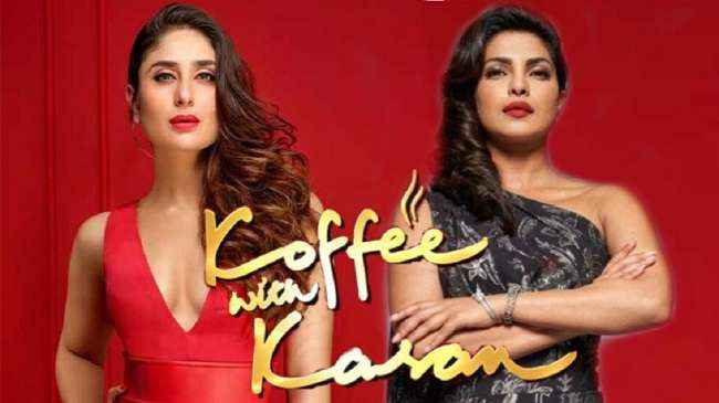 priyanaka chopra and karine kapor come in koffee with karan show season 6