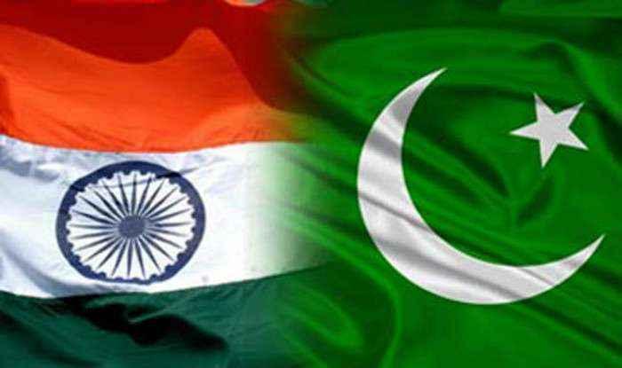 pakistan vs india flags