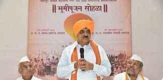 Minister Diwakar Ravte pandharpur