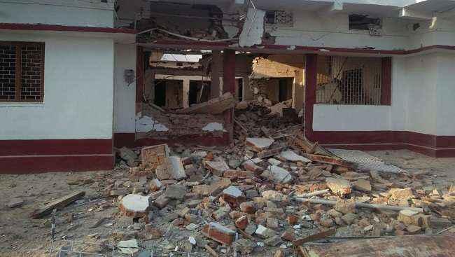 naxals attack on former mlc residence