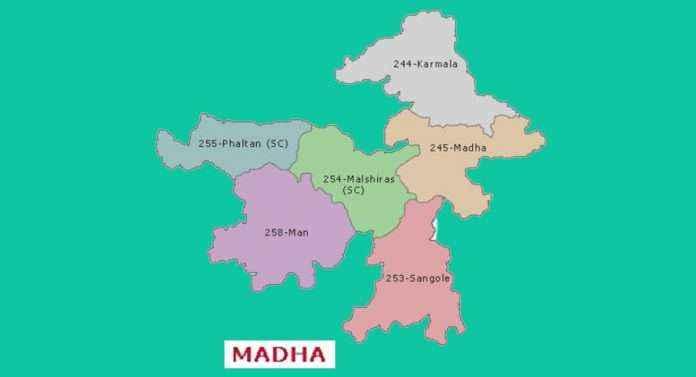Madha lok sabha constituency map