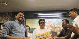 Raj thackeray got mango from nanar where oil refinery proejct got cancel