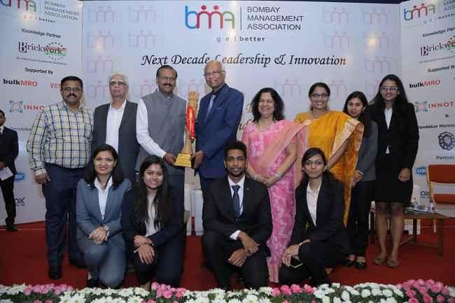 Bombay Managemnet Association honer of Welingkar Institute