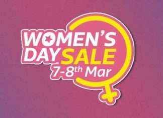 Flipkart women's Day sale mega discount on smartphones