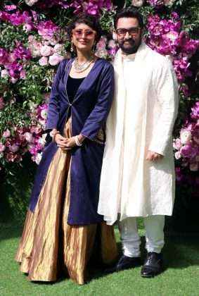 Amir Khan and wife Kiran rao