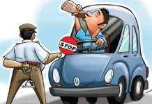 Mumbai police arrested 461 drivers in drunk and drive case