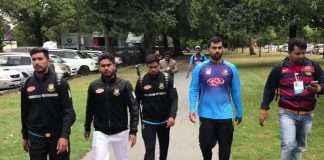 New Zealand firing_Oval Test has been cancelled