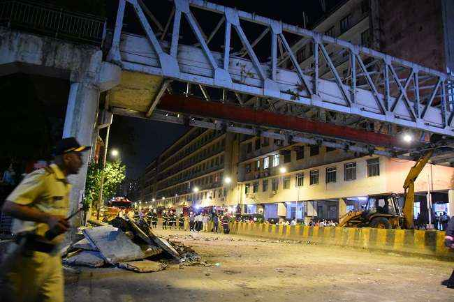 Update : Mumbai himalaya bridge collapse