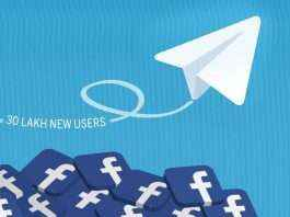 Telegram gain 30 lakh new users while facebook was down