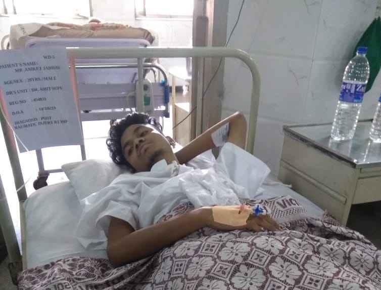 csmt pool collapse incident 20 years aniket jadhav injured