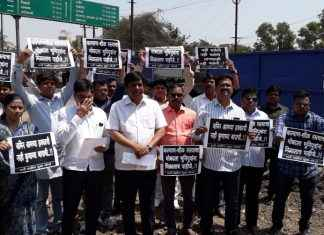 Farmers are suffering due to kalyan-shil road
