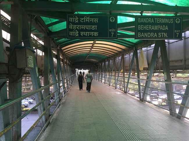 Bandra skywalk