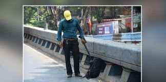 Bag found on Tilak Bridge