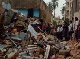 building collapse in Karnataka