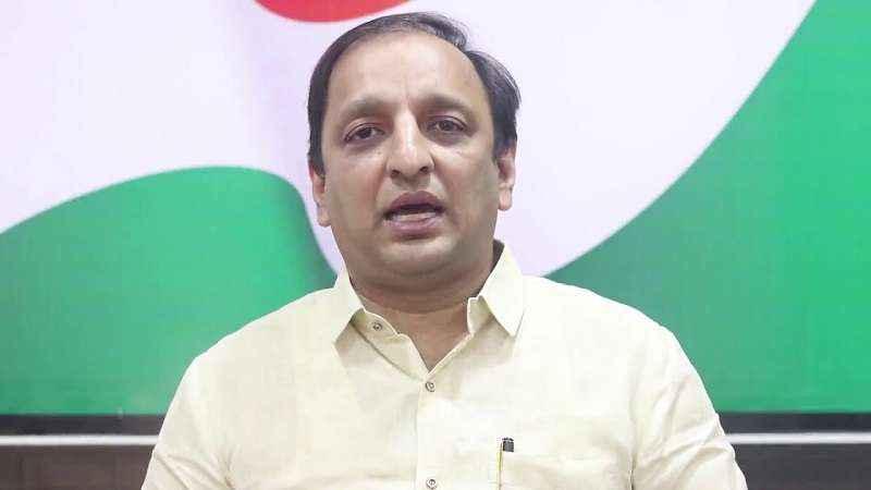 congress spokesperson sachin sawant