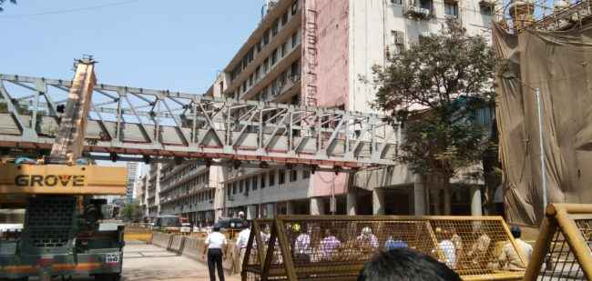 csmt bridge collapse - suspension action on officials