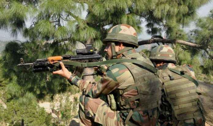 kashmir election 2019 terror attack high alert