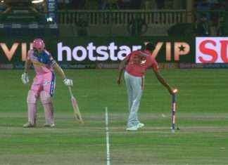 jos buttler out mankad by R Ashwin