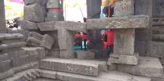 lonad temple not in good condition