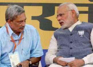 manohar parrikar political journey