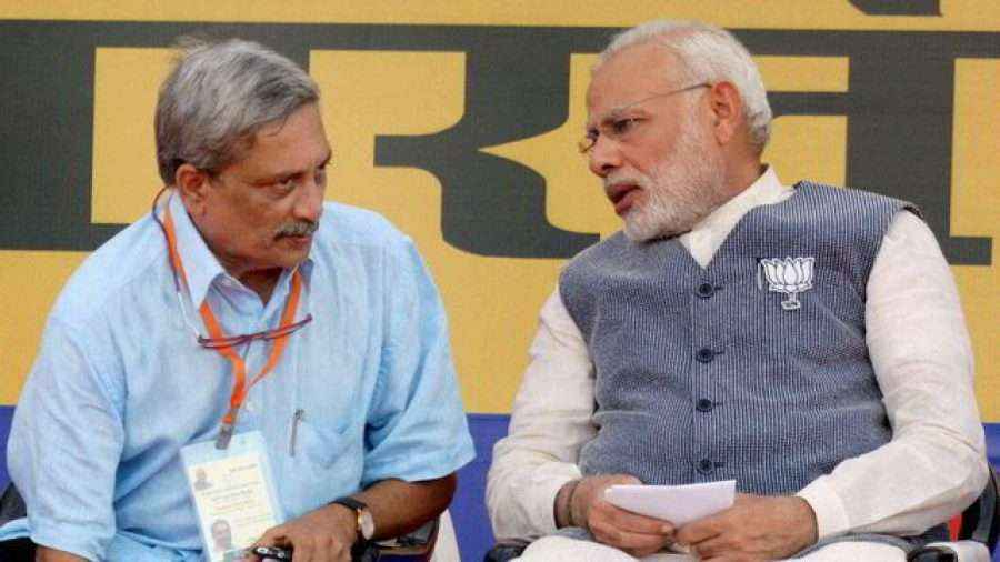 manohar parrikar political journey