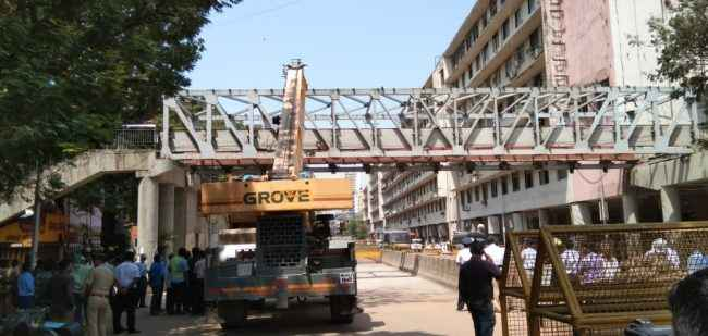 mumbai bridge collapse iron body of bridge demolished soon