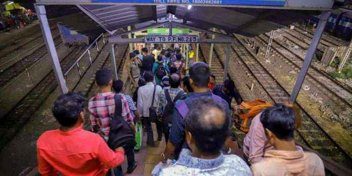 central railway : central railway take decision about footover bridge