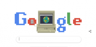 Google Doodle Celebrates World Wide Web 30th Birthday