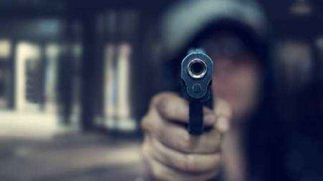 Four injured after accidental shooting by bank security guard in jalgaon
