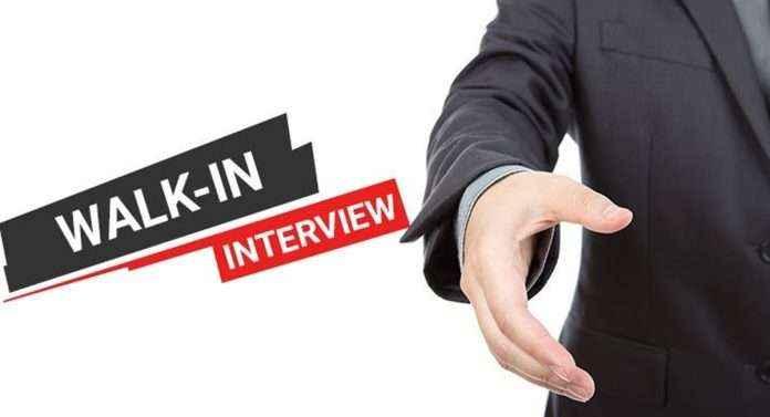 walk-in interview