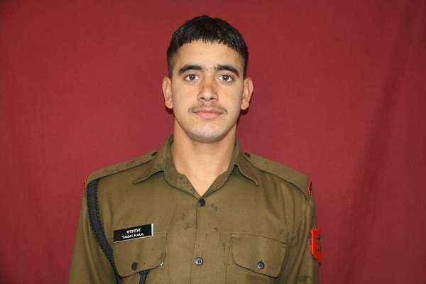 yash paul killed at pakistan violates ceasefire